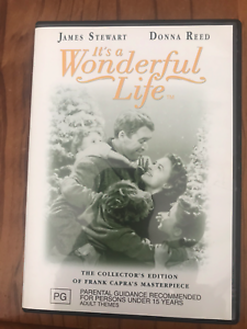 IT-039-S-A-WONDERFUL-LIFE-COLLECTORS-EDITION-JAMES-STEWART-AS-NEW-REGION-4-DVD