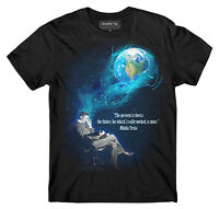 Nikola Tesla T-shirt, Tesla Dream T-shirt, Free Energy T-shirt,scientist T Shirt