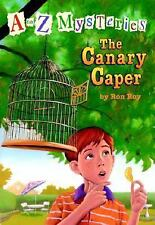A to Z Mysteries: The Canary Caper (A Stepping Stone Book(TM))-ExLibrary