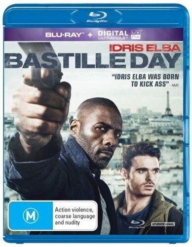 1 of 1 - Bastille Day (Blu-ray, 2016) 'EX RENTAL'