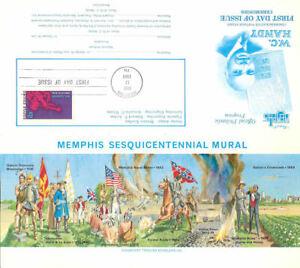 1372-C1-First-Day-Ceremony-Program-6c-W-C-Handy-Stamp-w-FDC