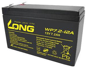 Intelligent 12 V 7,2ah Long Wp7.2-12 F2 Vds Batterie Agm Gel Plomb Batterie Comp, 7ah 7,5ah 7 A 6,3-afficher Le Titre D'origine