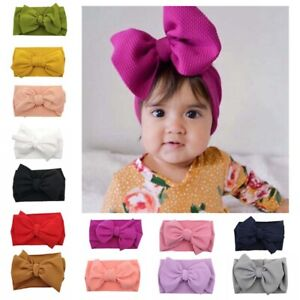 Child-Girl-Baby-Headband-Toddler-Lace-Bow-Flower-Hair-Band-Headwear-Accessory-au