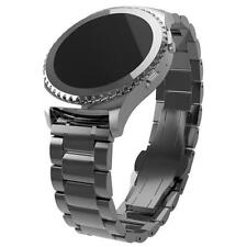 Stainless Steel Sports Watch Band Strap Metal Clasp For Samsung Gear S2 Classic