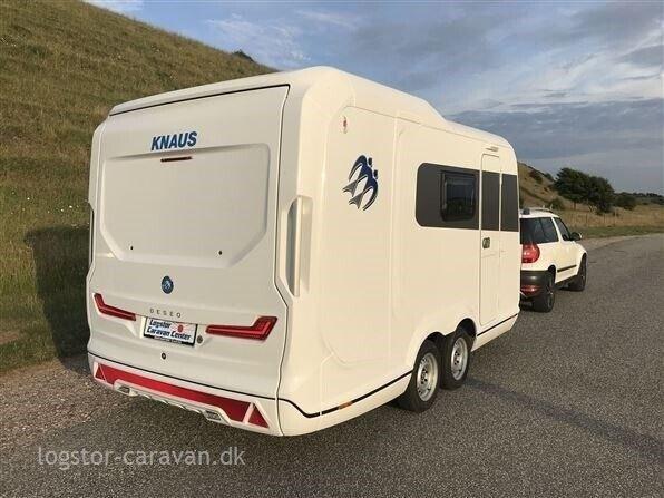 Knaus Deseo 400 TR Transport, 2020, kg egenvægt 750