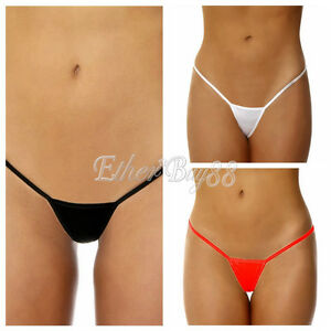 e0377ef4707 Sexy Womens Micro Thongs Low Rise Underwear G String T-back Bikini ...