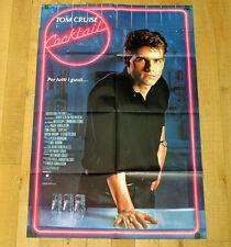 COCKTAIL poster manifesto Tom Cruise Bryan Brown Elisabeth Shue Barman Manhattan