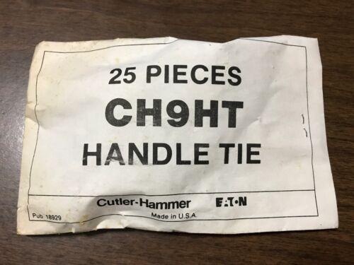 Eaton Cutler-Hammer CH Handle Ties CHHTCS CH9HT Tan Brown LOT DISCOUNTS NOS NEW
