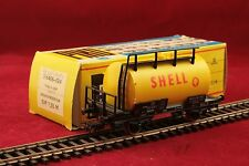 Piko H0 DB Kesselwagen Shell 2 achsig in gelb/Top Zustand/OVP