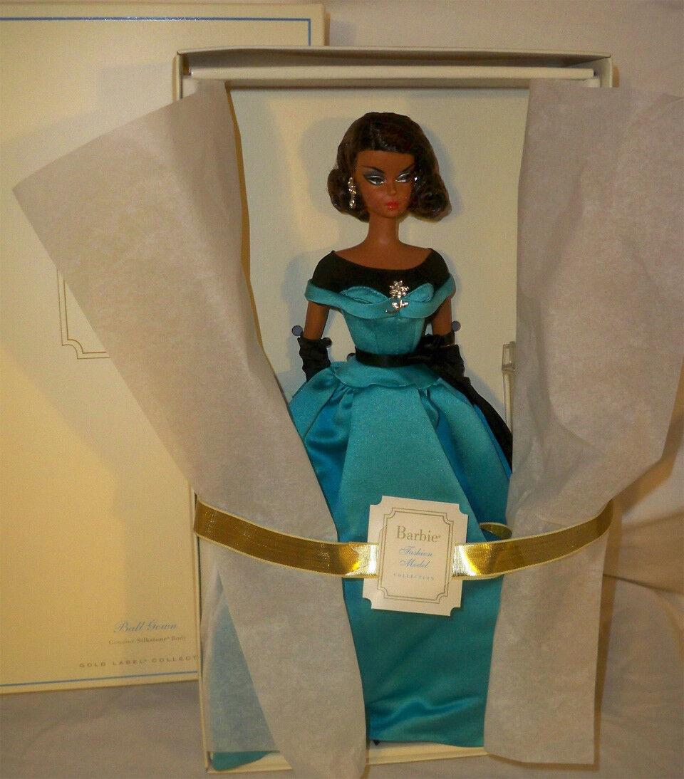 2013 Modelo De Moda De Barbie Silkstone Colección AA Baile Vestido Muñeca Barbie En Caja Original