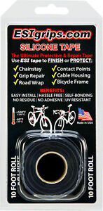 ESI-SILICONE-10-039-FOOT-ROLL-BICYCLE-FRAME-PROTECTOR-BLACK-TAPE
