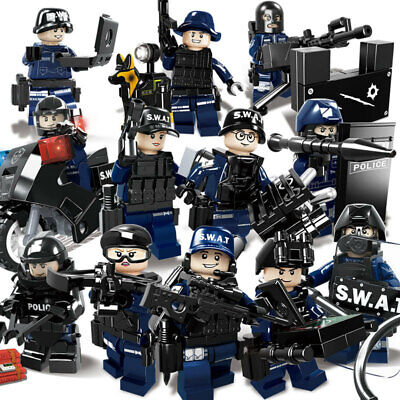 Army Marines Special Forces Military Minifigures Set 8 Solders Lot USA SELLER