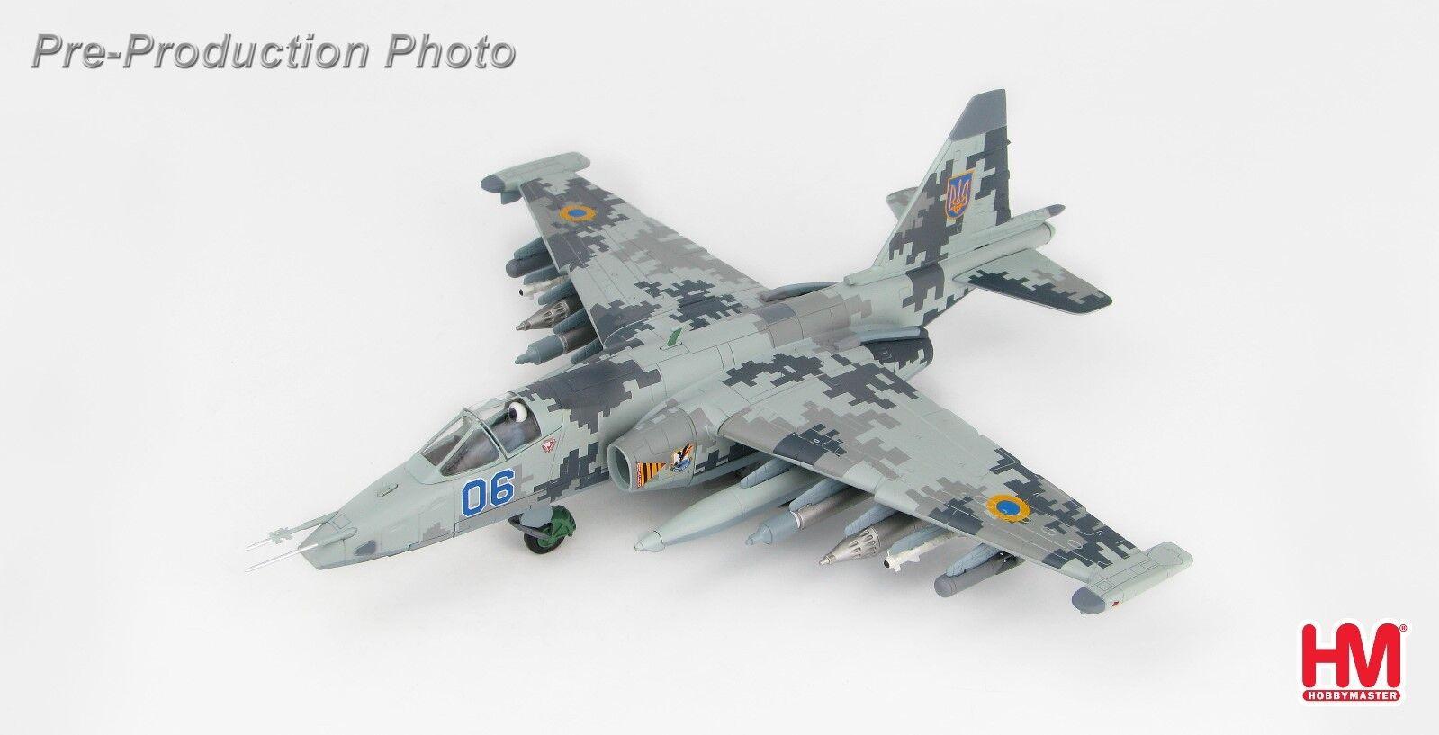 HOBBY MASTER MASTER MASTER 1/72 HA6105 Su-25M1 Frogfoot Ukranian Air Force, Nikolaev, 2014 94f232