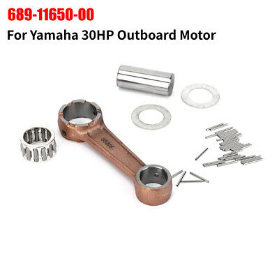 For YAMAHA Outboard hors-bord 30 HP Connecting Rod Kit Pleuelstange 689-11650-00