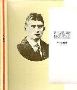 FRANZ-KAFKA-EDITIONS-D-039-ARTS-MAZENOD-E-O-No-1313-7000-1964