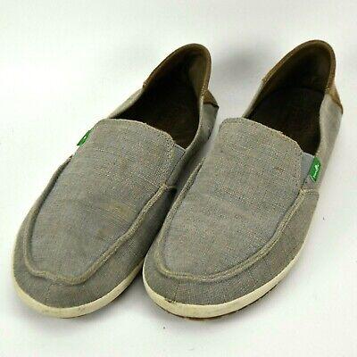 Sanuk Casa Vintage Boat Canvas Loafers