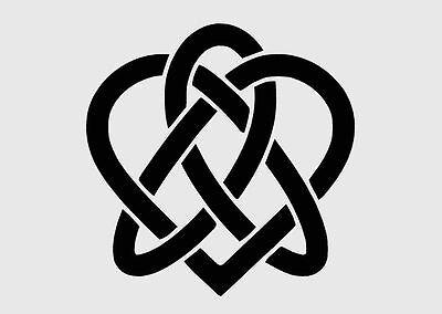CELTIC//GOTHIC//TRIBAL knot MYLAR Stencil REUSABLE Art 125//190 micron A5//A4//A3
