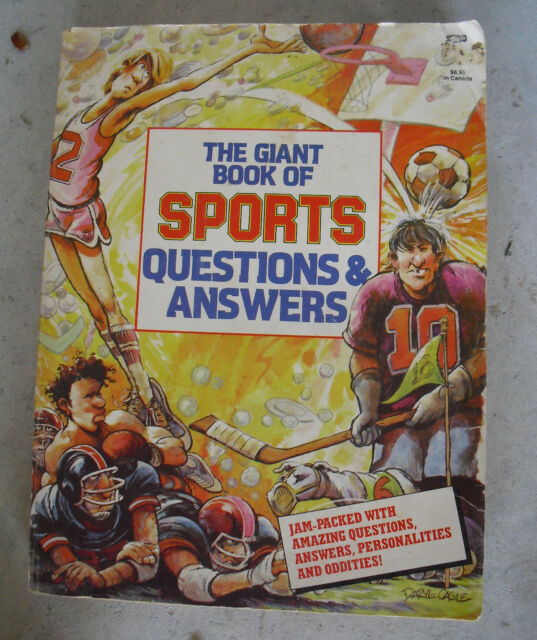 The Giant Book Of Sports Questions Answers For Sale Online Ebay