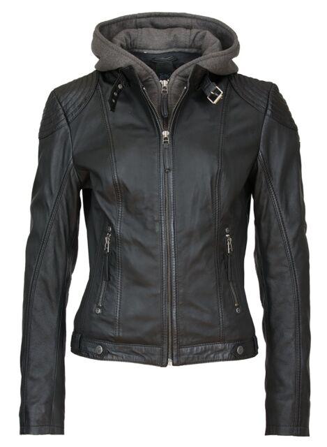 Gipsy Cacey Girl Lederjacke schwarz