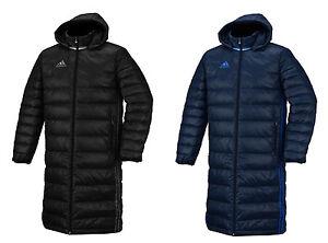 Details zu Adidas Authentic AC Long Down Jacket DN8050 XS XXL Black Free Shipping