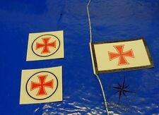Nautic Pro Dg.Z.R.S. 2 x  Logo (25) 1 x Flagge  (45)