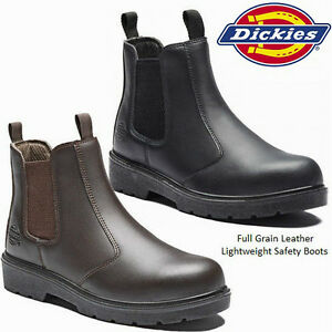 MENS-DICKIES-DEALER-WATERPROOF-CHELSEA-STEEL-TOE-CAP-SAFETY-WORK-BOOTS-SHOES-SZ