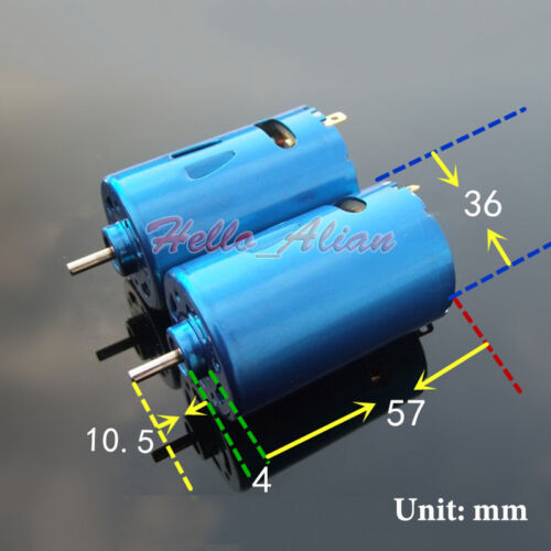 DC 12V 24V 30000RPM High Speed Large Torque RS-550 Motor DIY RC Car Boat Model