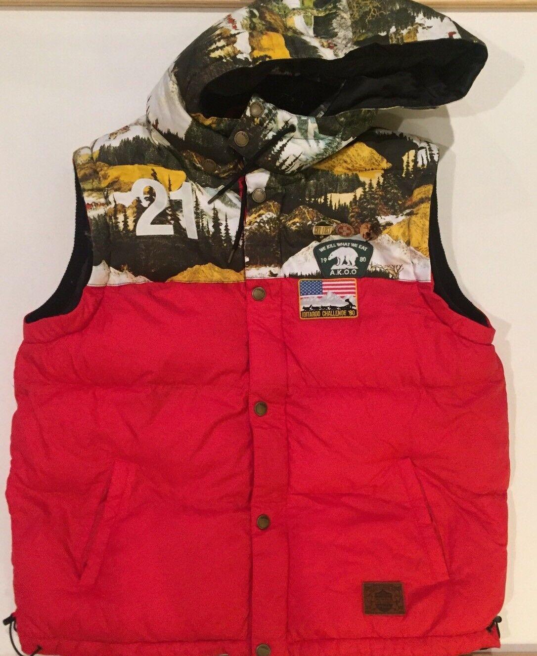 Men's Akoo Extra Large Vest