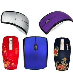 2-4GHz-Mini-Foldable-Arc-Wireless-Optical-Mouse-USB-Receiver-For-PC-Laptop-HOT