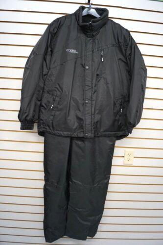 Choko Black Gravity 2pc Snowmobile Suit M L XL 2X 3X 199818-0 Jacket /& Bibs