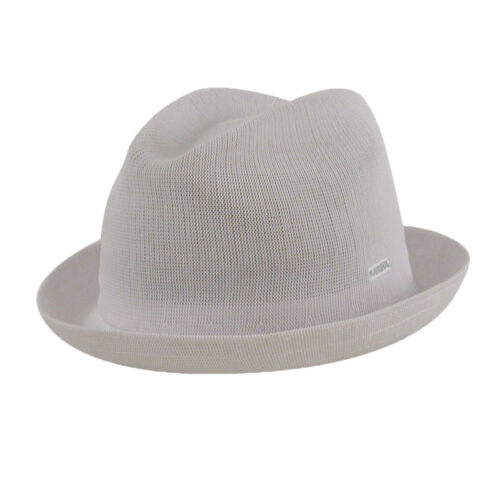 Kangol New 100/% Authentic Tropic Player Fedora Trilby Hat Cap 6371BC