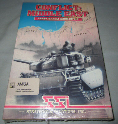 Conflict: Middle East - Commodore Amiga SSI Computer Video Game NEW/SEALED  RARE! 16685151395 | eBay