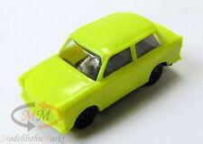 SES Trabant P-601 S Limousine Trabi DDR Osten Ostalgie Auto neon-gelb 1:87 NEU