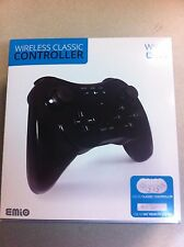 Brand NEW Factory Sealed Wireless Classic Controller (Black) for Wii, Wii U