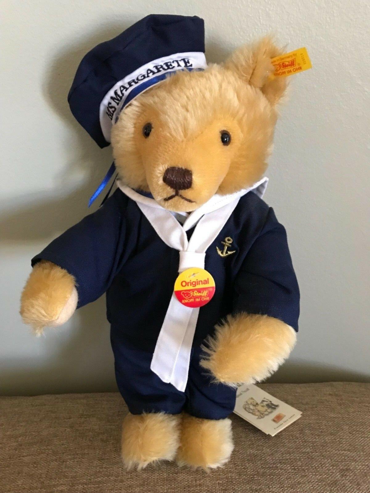 Steiff #028519 Sailor Teddy Bear NWT