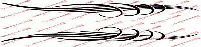 RINGS BOAT DECALS 6x93.5 inches long Boston Whaler Malibu Chaparral Wellcraft