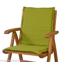 6 Gartenmöbel Auflagen Für Sessel Niedrig Niederlehner Niedriglehner Stuhl Grün