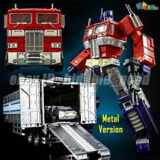 "KBB MP10V G1 Optimus Prime Autobot Transformer Container Metal Version 8"" Figure"