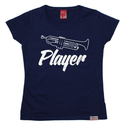 Trumpet Player WOMENS T-SHIRT Group Brass Instrument Funny birthday fashion gift