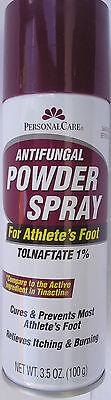 ANTIFUNGAL FOOT SPRAY FOR ATHELETE'S FOOT Generic Tinactin  1%Tolnaftate, 3.5 oz