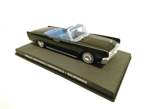 1:43 Diecast Modellauto DY132 Lincoln Continental James Bond 007 Goldfinger