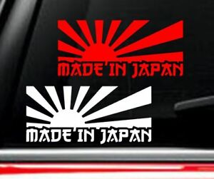 MADE IN JAPAN Decal Vinyl Car Window Sticker ANY SIZE
