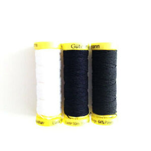 Shirring-Elastic-Thread-Gutermann-Crimp-Frill-Gather-Sew-by-hand-or-machine