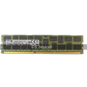 Samsung 16GB 4X4GB DDR3 1333 PC3-10600R REG ECC Server Memory RDIMM compatible