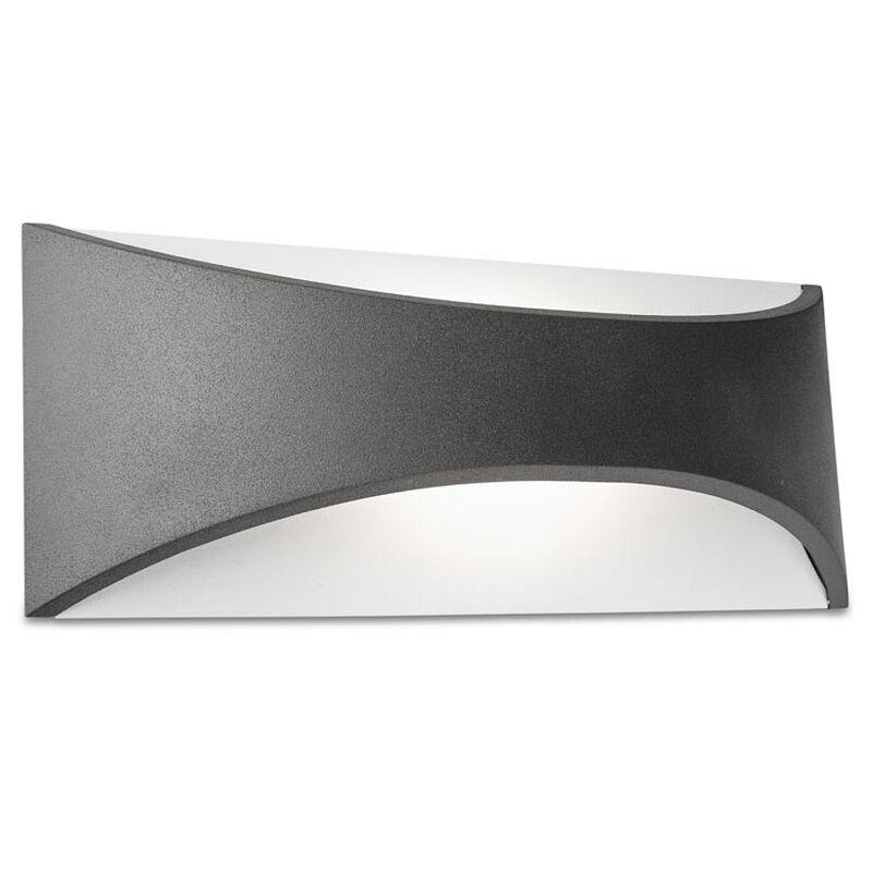 LEDS 05-9894-Z5-CL LED Außenleuchte anthrazit 10 Watt 759 Lumen 3000 Kelvin IP65