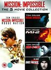 Mission Impossible 1-5 5053083056445 With Tom Cruise DVD Region 2