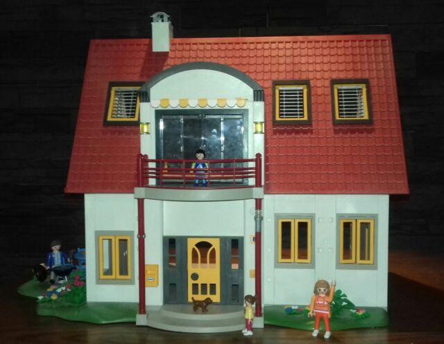 Playmobil 4279 Grande Maison Villa Moderne Poster City Achetez Sur Ebay