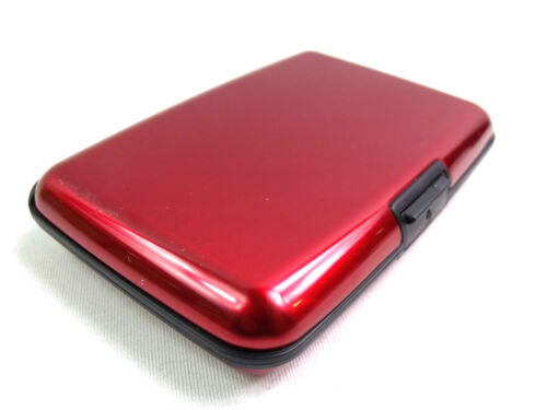 Metall Aluminium Geldkartenetui Halterung Business Identifikation Rfid Sperrung