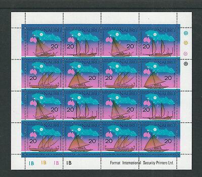 PüNktlich Nauru 1975 Melanesian Ausleger Voll Kleinbogen Vf Mnh Angenehm Im Nachgeschmack scott 124-27 Kleinbogen