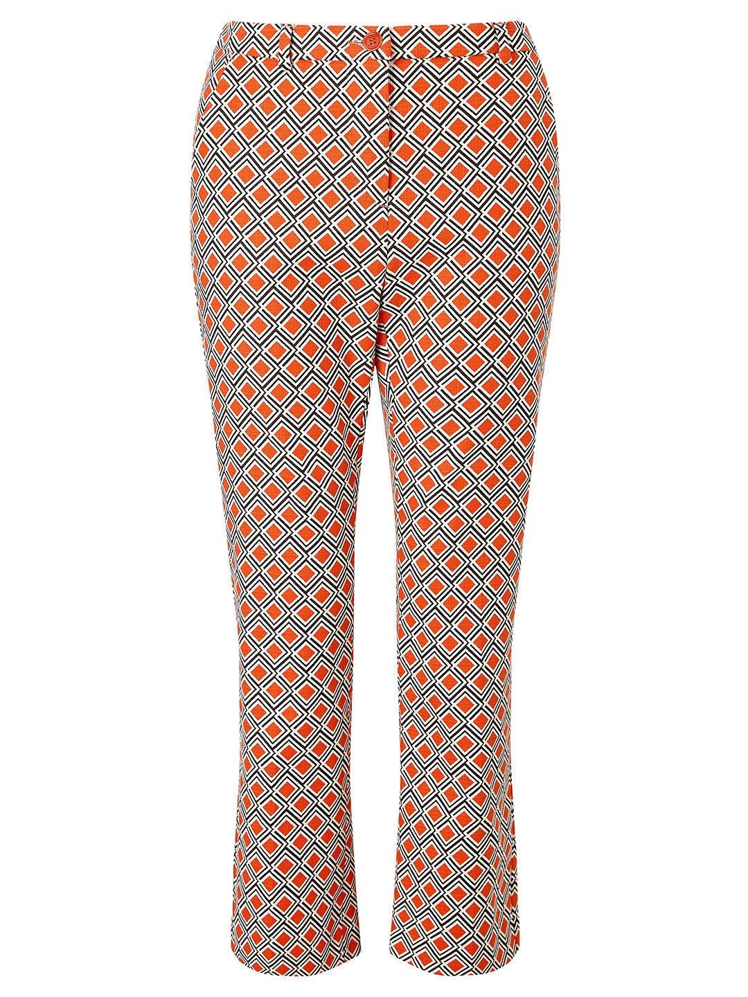 Weekend Max Mara Vadet Stretch Cotton Trousers orange Size